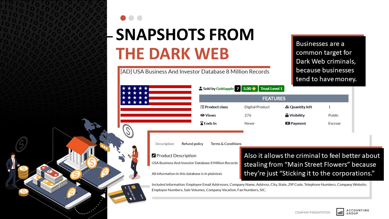 DarkWeb Company Data